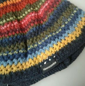 Abercrombie & Fitch multicolored knit beanie